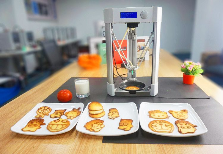 Desktop Food 3D Printer
