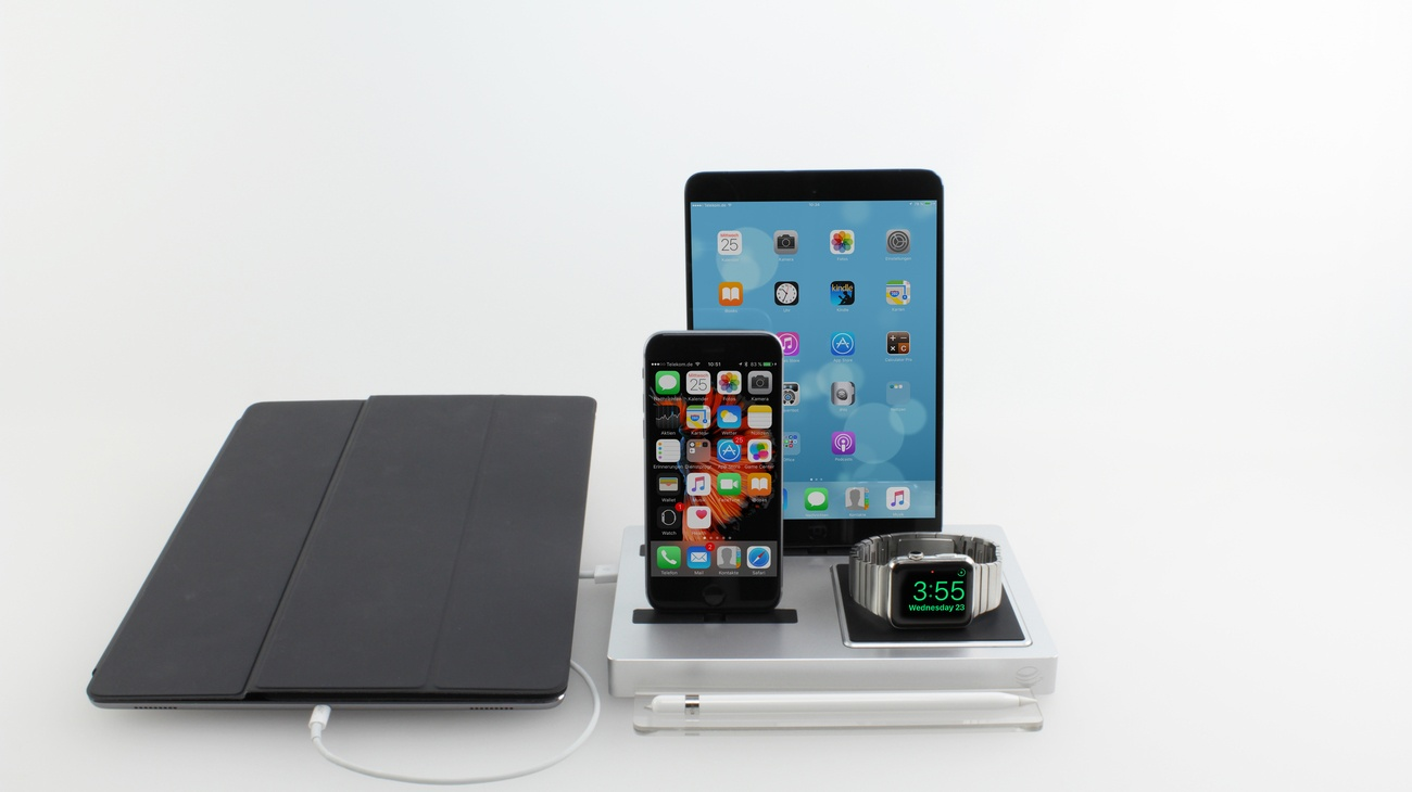 EVOLUS 3 – The Most Versatile and Smart Charging Dock Ever