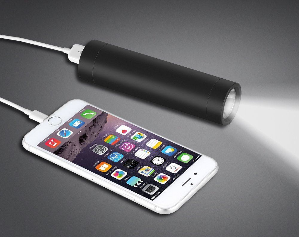 EasyAcc Ubright Portable Battery Pack with Flashlight