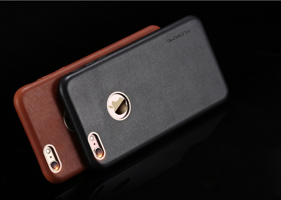FLOVEME Leather Case For iPhone 7
