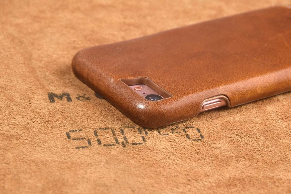 Genuine Leather Case For iPhone 7