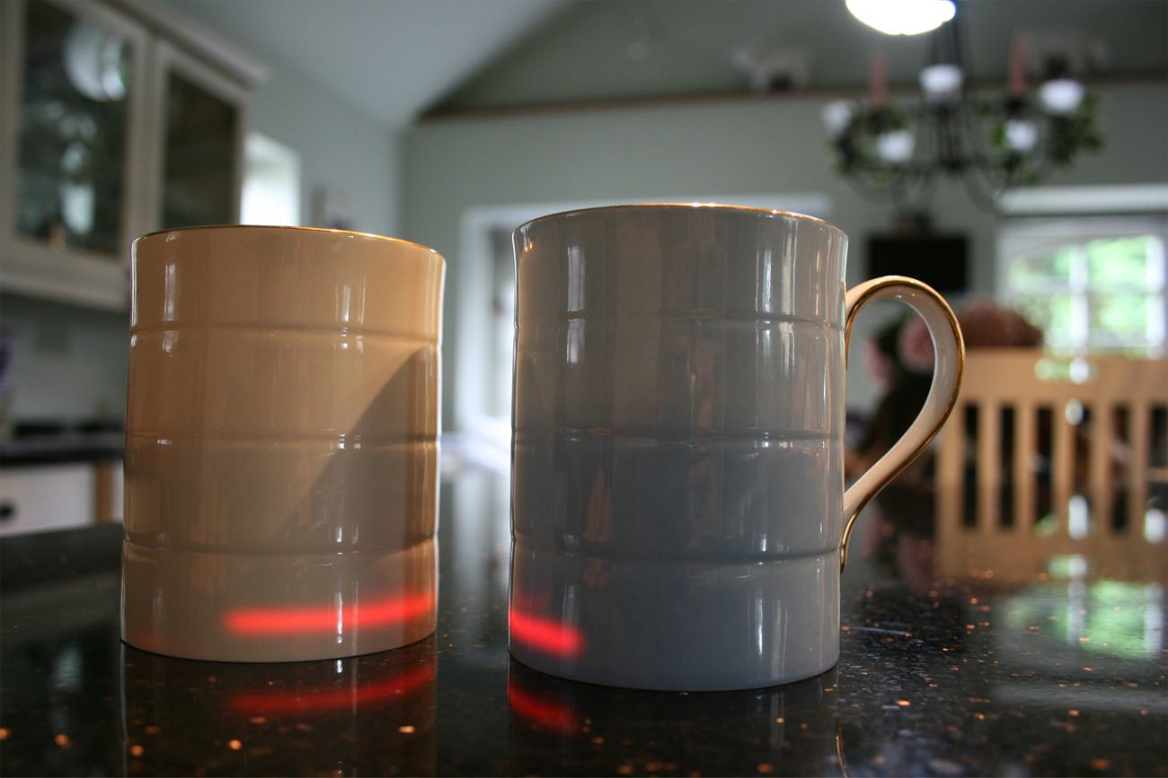 Glowstone Heated Smart Mug Fine Bone China