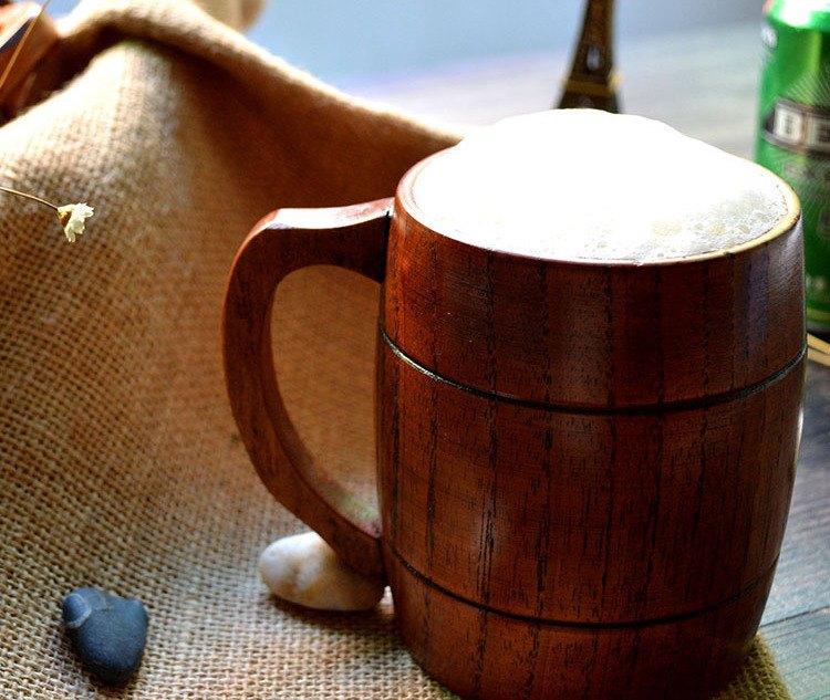 Handmade Wooden Beer Mugs - Technology Updats