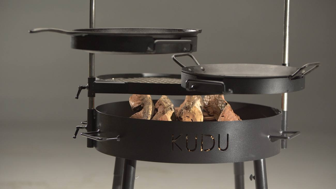 kudu safari braai grill gadget flow. Black Bedroom Furniture Sets. Home Design Ideas