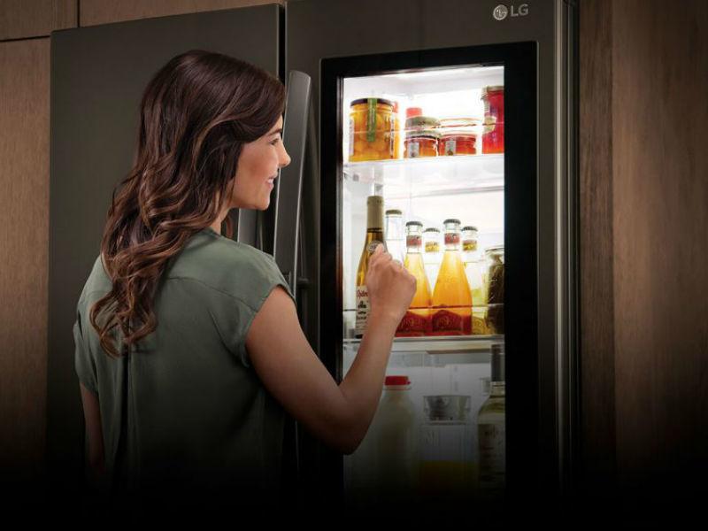 LG Smart Instaview Door-in-Door Fridge
