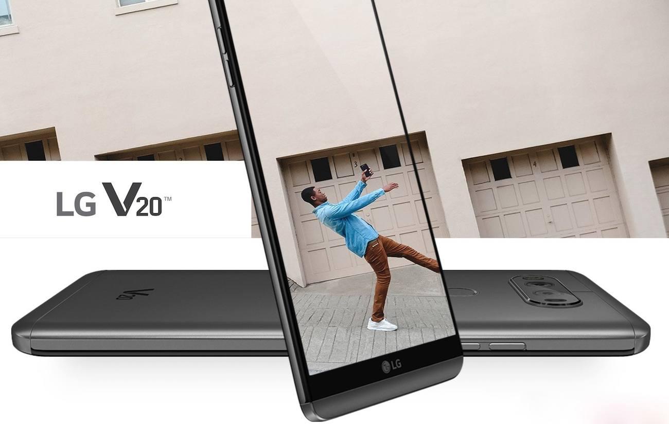 LG V20 – Superior Video, Photography & Next-Level Audio