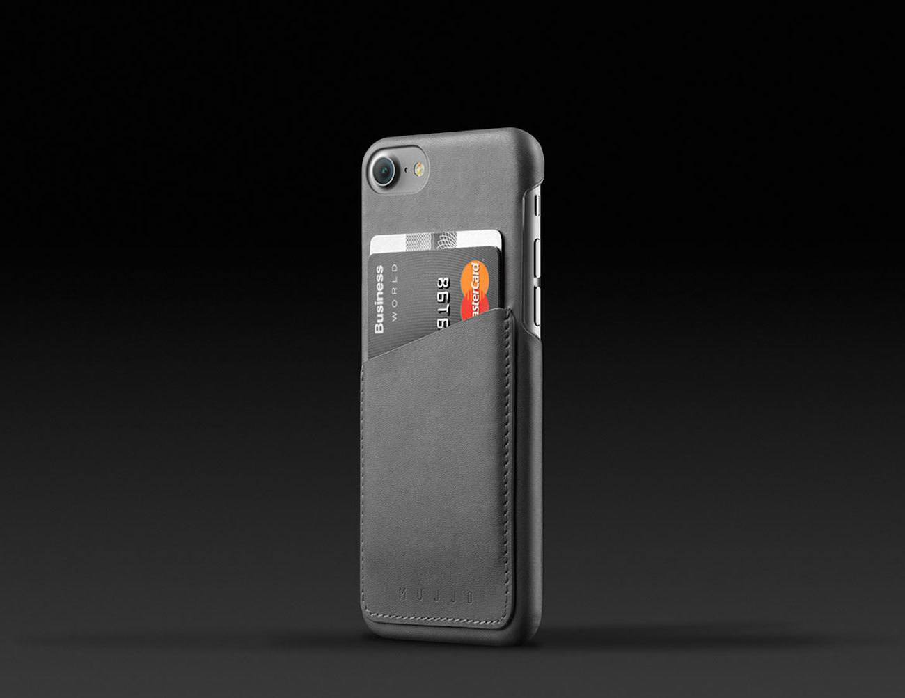 Leather Wallet Case for iPhone 7