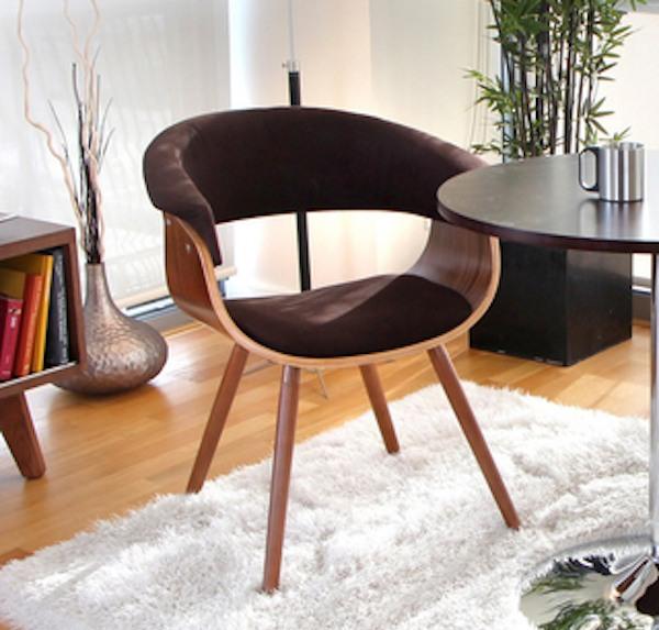 LumiSource Vintage Mod Accent Chair