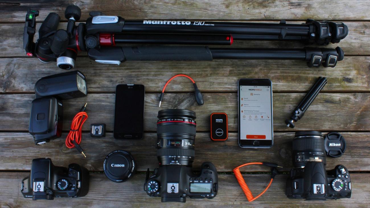 MIOPS MOBILE – The World's Most Versatile Camera Remote