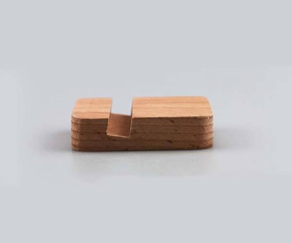 Mini Wooden Stand for iPhone 7