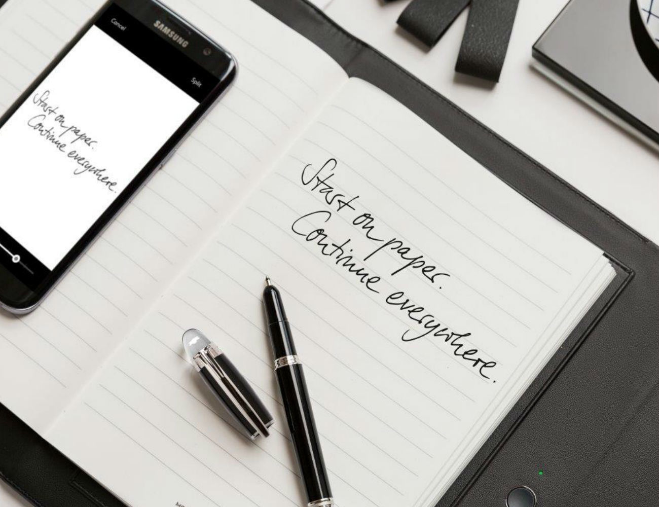 Augmented Paper by Montblanc