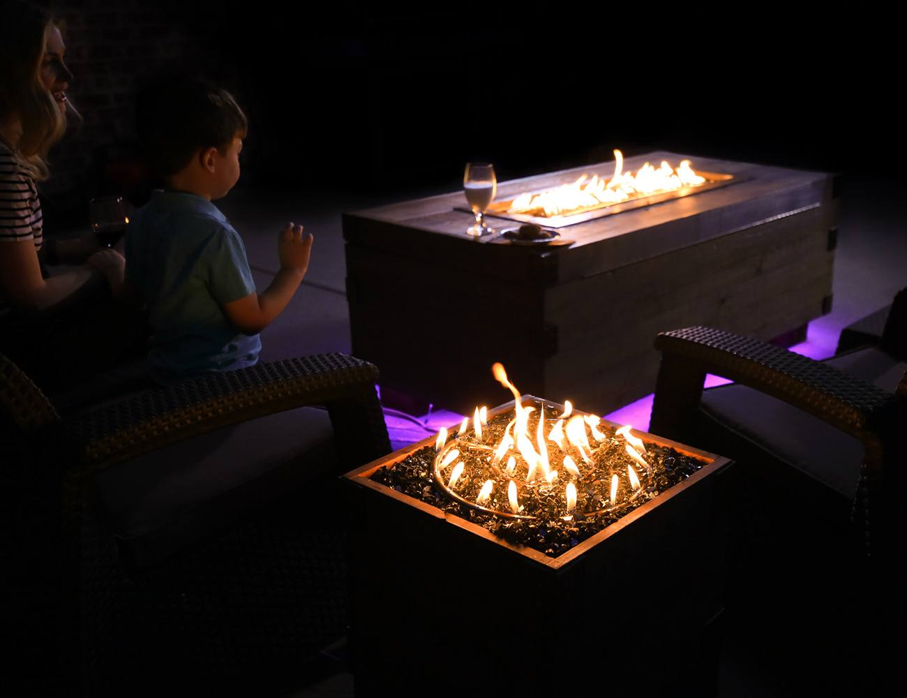Sound Reactive Fire Pits With Flames That Dance To Music