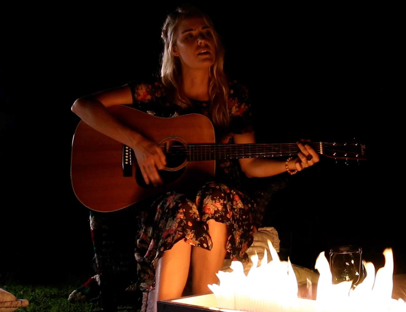 Sound-Reactive Fire Pits with Flames that Dance to Music