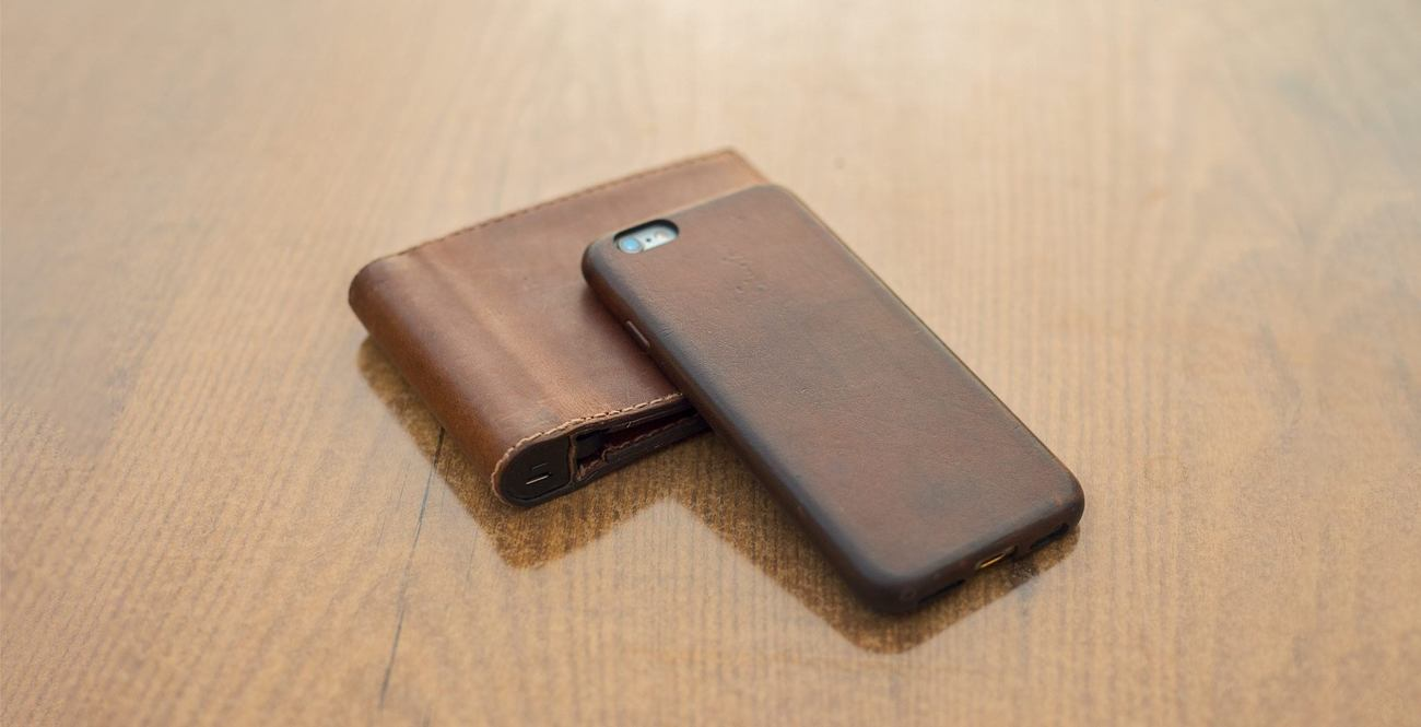 Nomad Leather Case for iPhone 6/6S