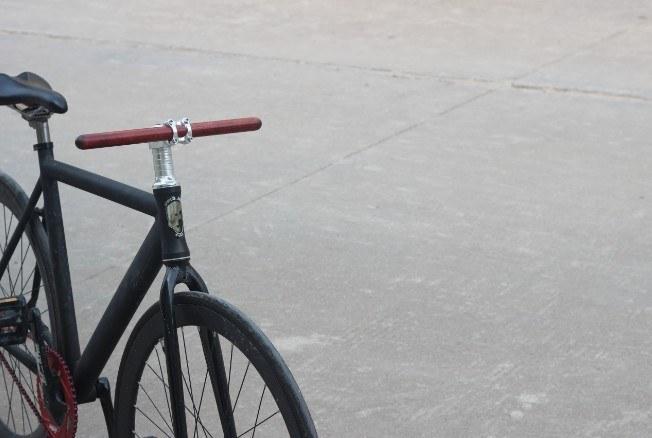 Pear Wood Bike Handlebars