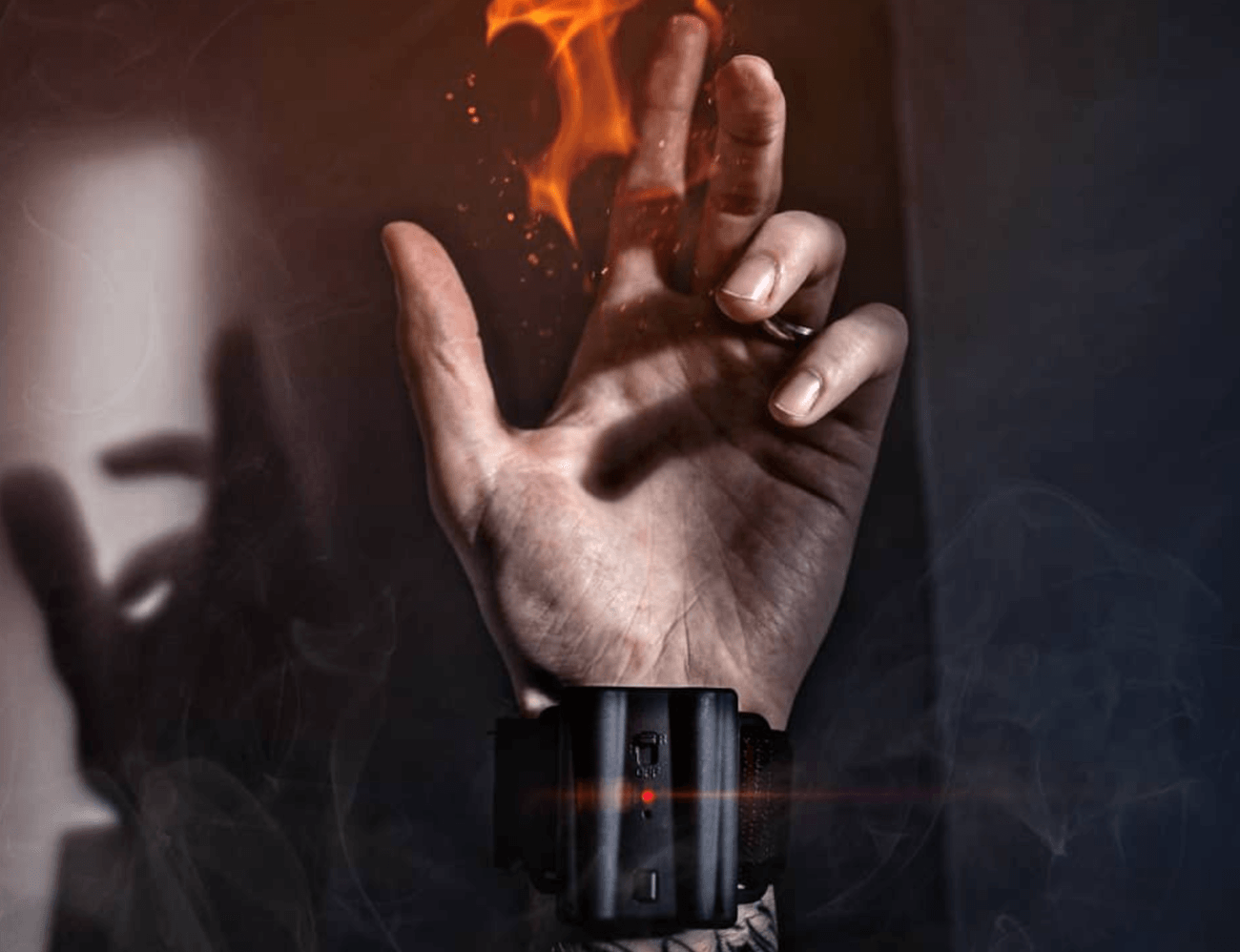 Pyro Mini Fireshooter