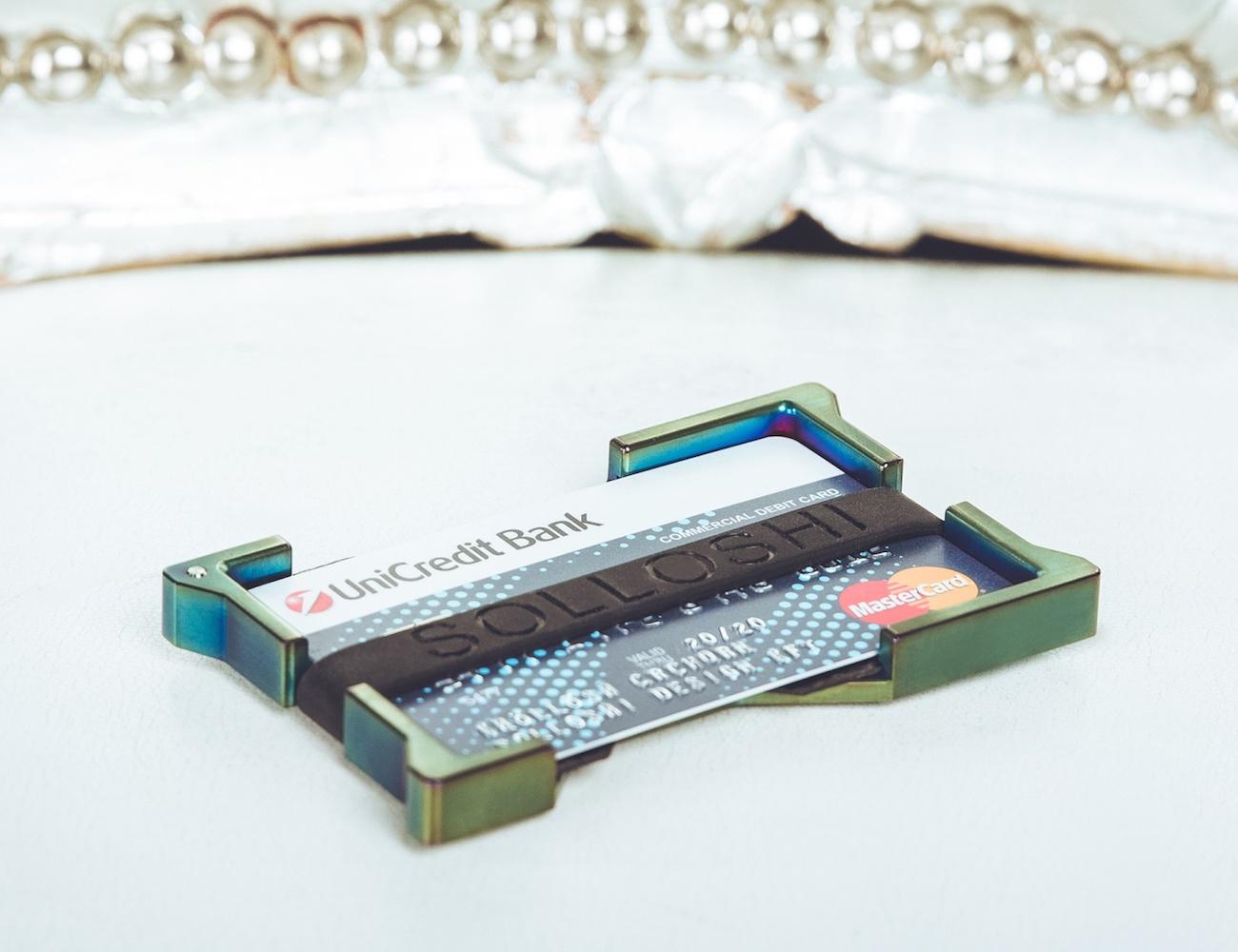 Series 38 Luxury Bank Card Holder