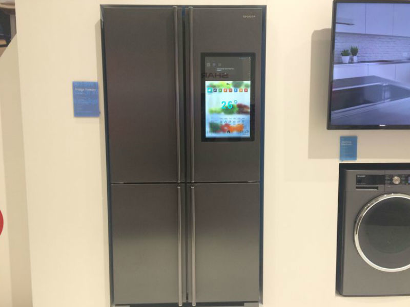 Sharp 4LifeHub Refrigerator