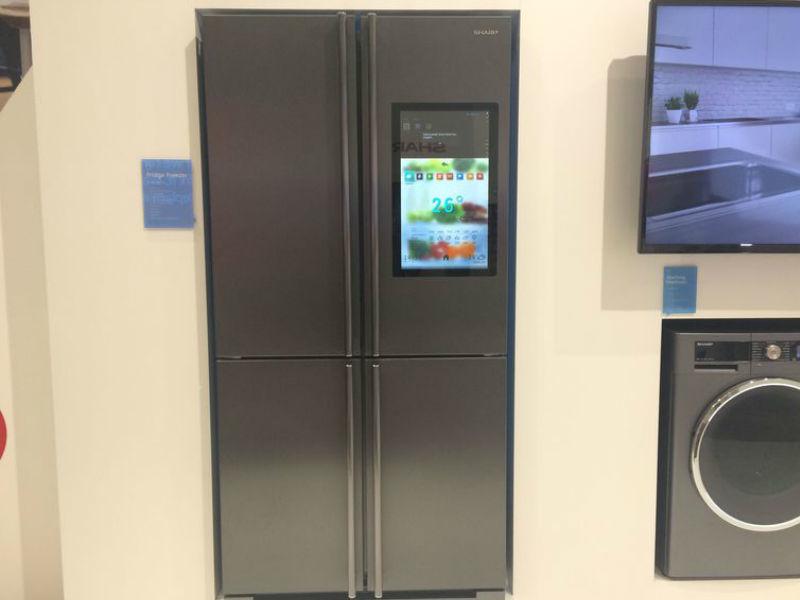 Sharp 4LifeHub Refrigerator