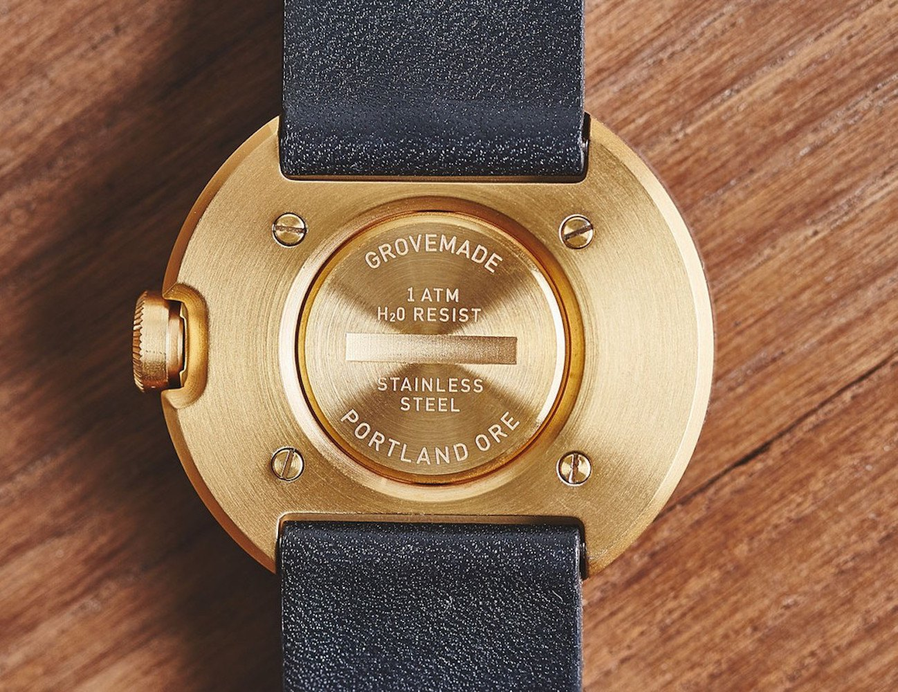 Special Edition Gold Watch by Grovemade