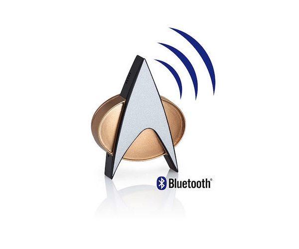 Star Trek TNG Bluetooth ComBadge