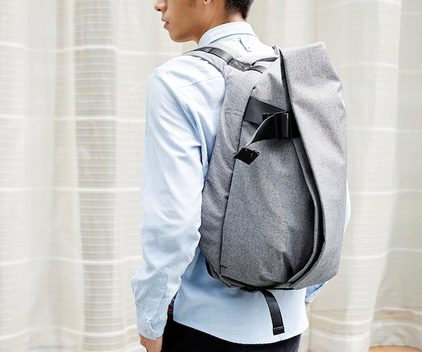 Suit Fabric Laptop Backpack