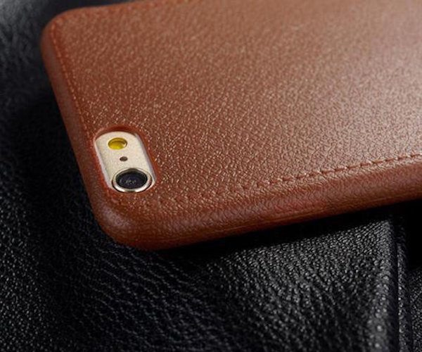 Super Thin Leather Pattern iPhone Case