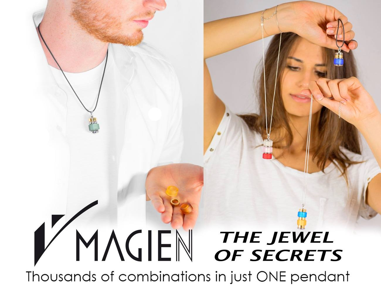 MAGIEN – The Jewel of Secrets – Thousands of Pendants in ONE