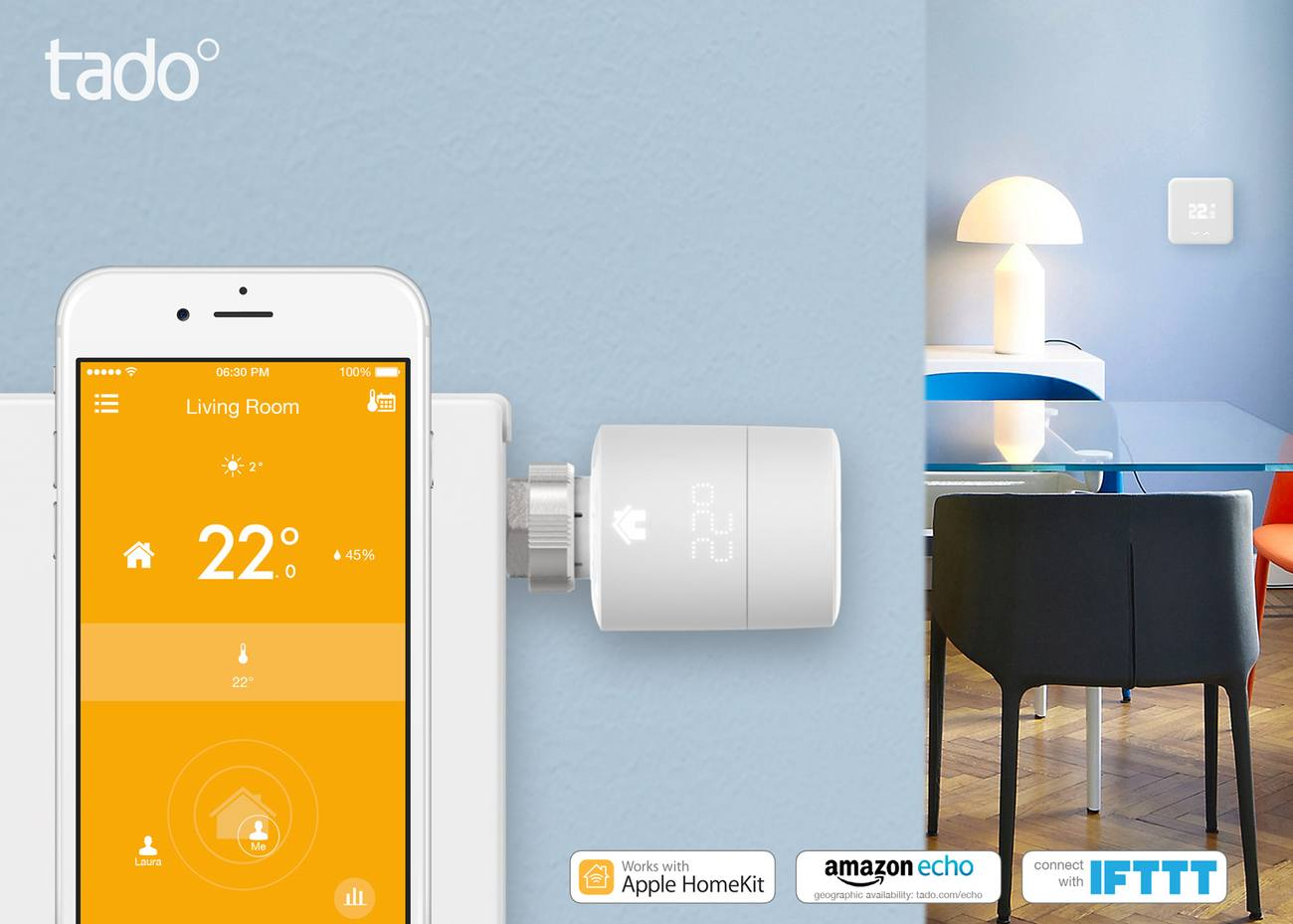 Tado 3rd Generation Smart Thermostat