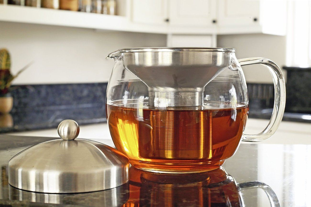 Teapot+Kettle+With+Warmer+By+Willow+%26amp%3B+Everett