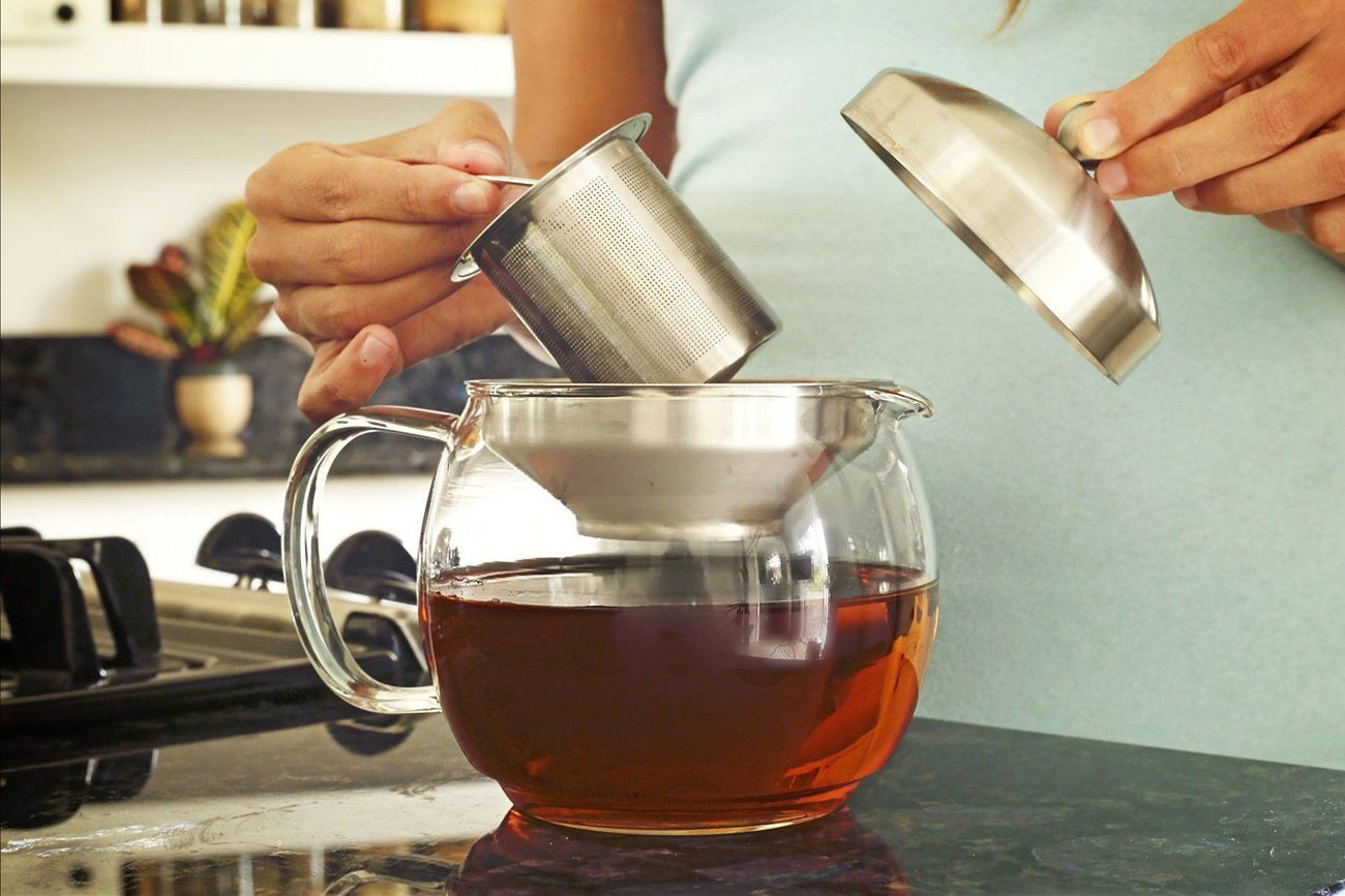 Teapot Kettle with Warmer by Willow & Everett