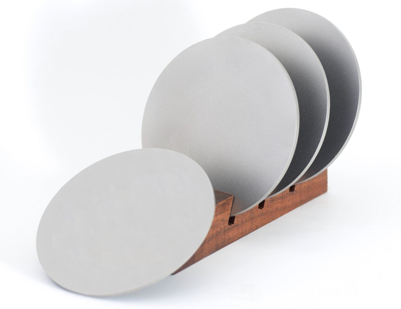 Titanium Drink Coasters – Minimal Modern Design