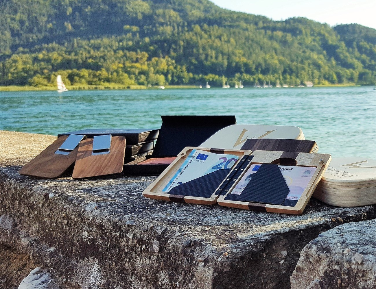 Unique Wood Wallets by Wogenfels