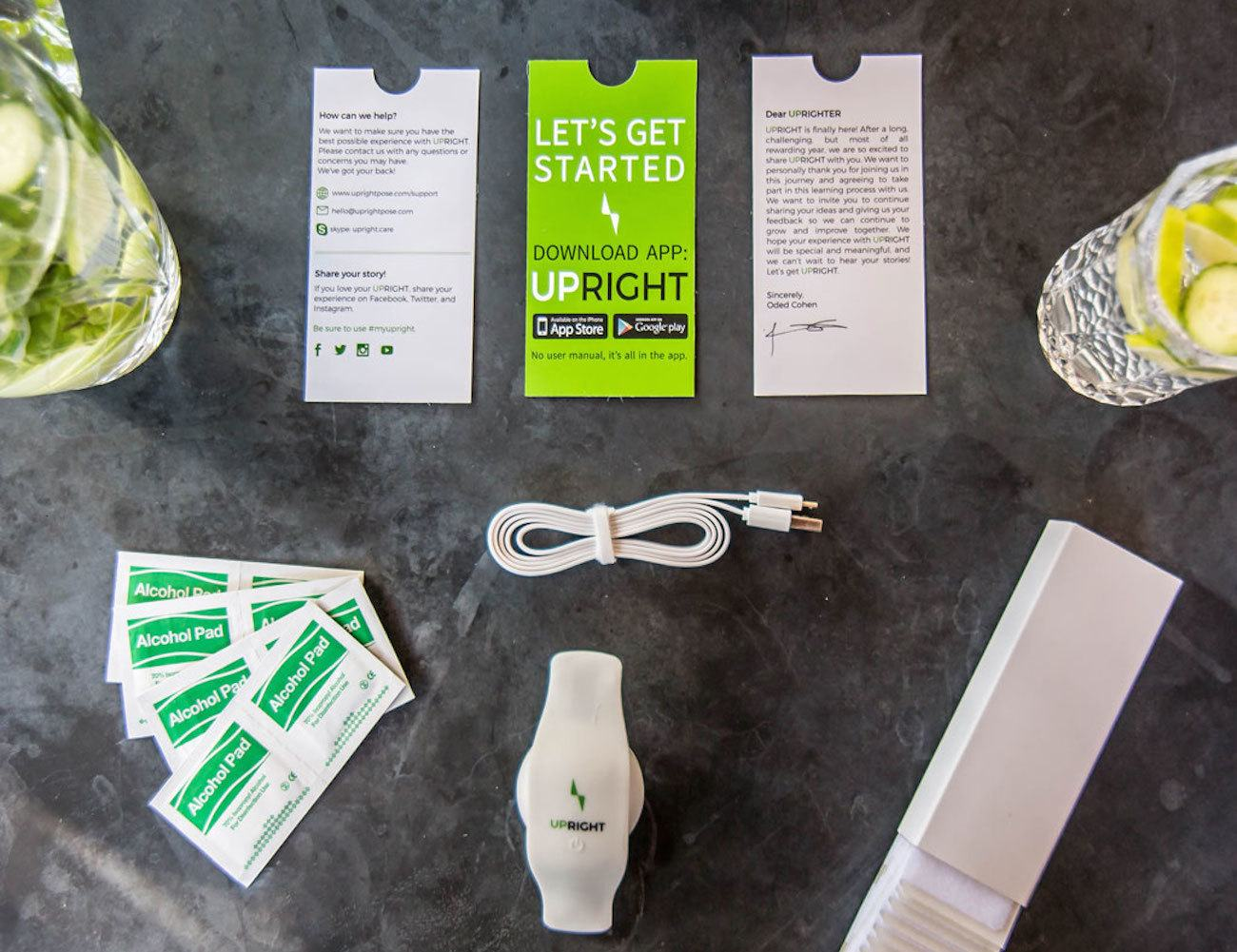 UpRight – Wearable Tech That Trains You To Sit and Stand Upright