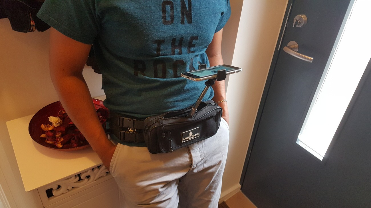 Waist Bag Smartphone Holder – Handee Holder