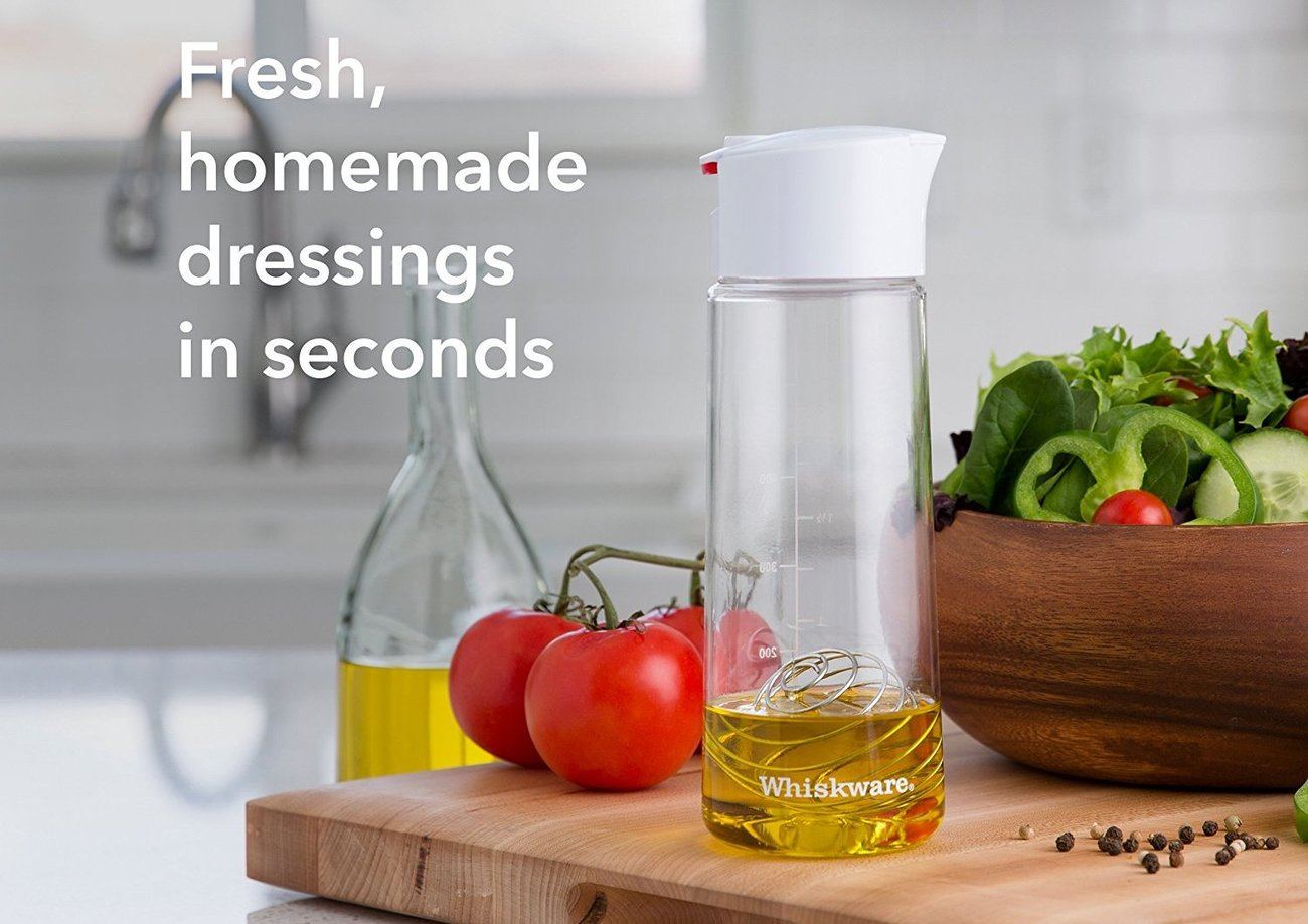 Whiskware Dressing Shaker with BlenderBall