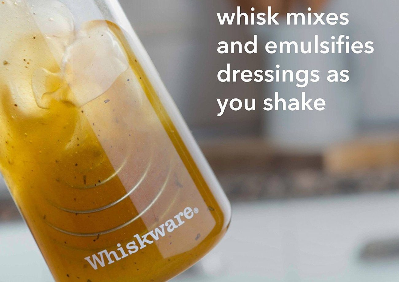 Whiskware Dressing Shaker with BlenderBall