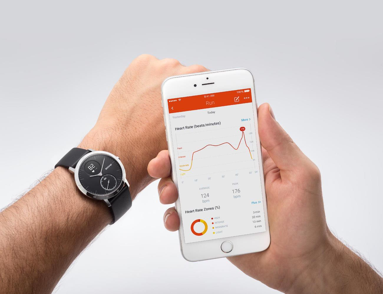 Withings Steel HR Fitness Tracker