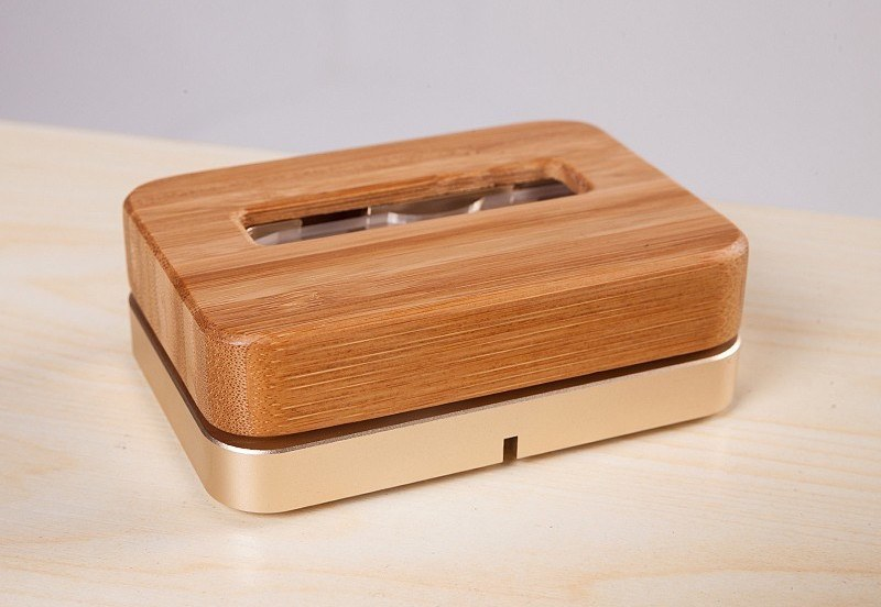 Wooden Bamboo Charger Dock For iPhone