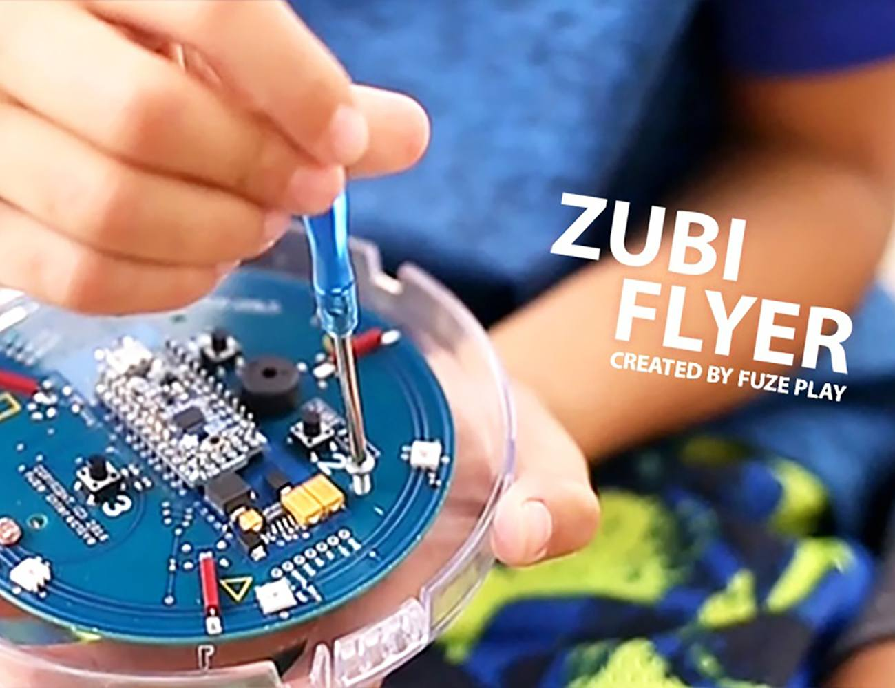 Zubi Flyer – The First Hackable Frisbee is Ready to Go