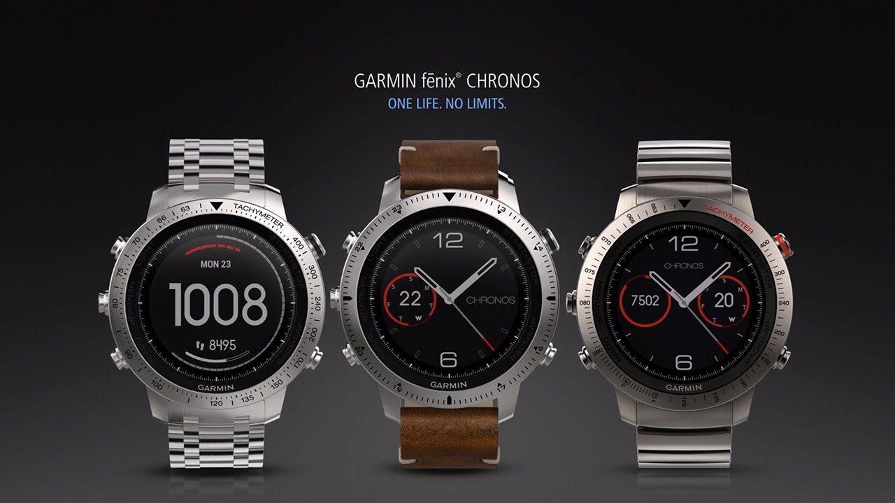 fēnix Chronos GPS Watch by Garmin