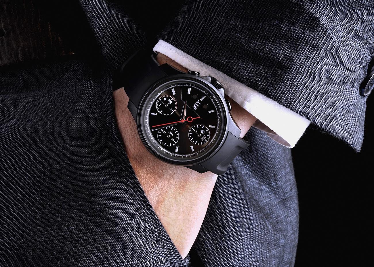iFit Graphite Wrist Watch