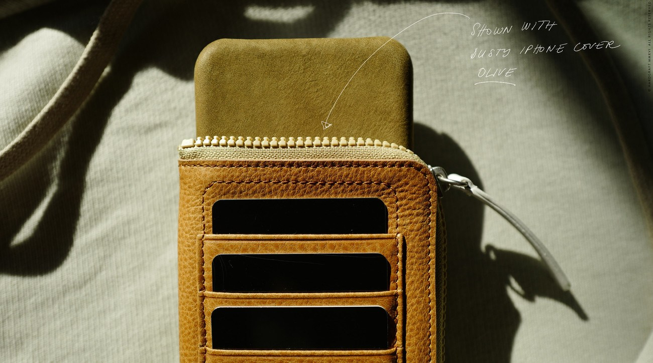 iPhone Zip Wallet by Hard Graft