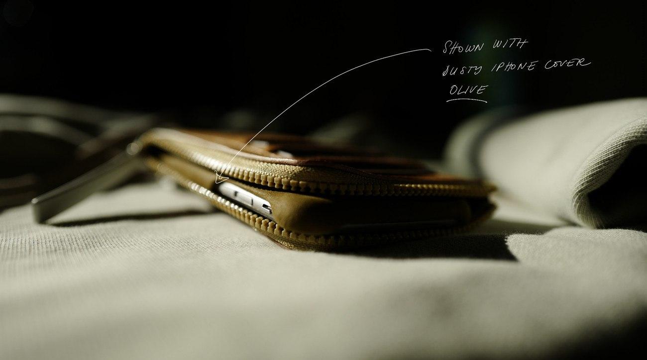 iPhone Zip Wallet by Hard Graft
