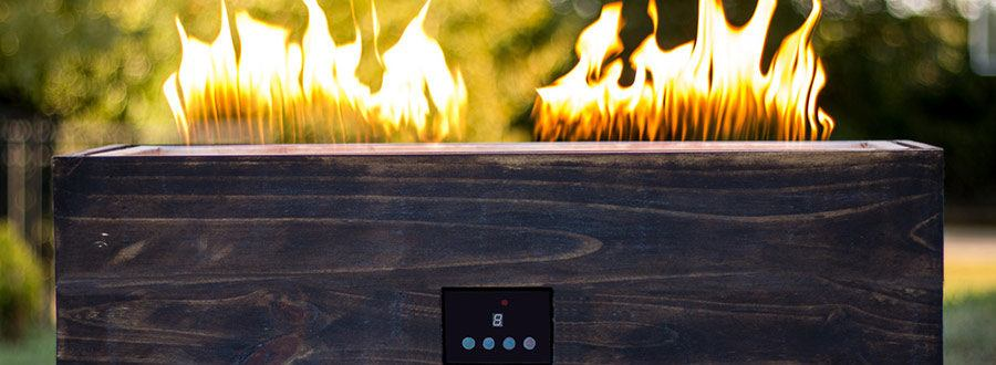 The Sound-Reactive Fire Pit Dances to Your Music