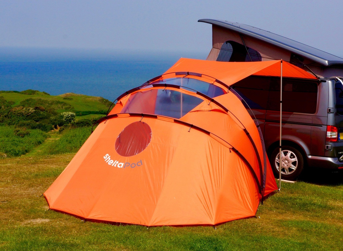 SheltaPod The Campervan Awning That Adapts To Weather