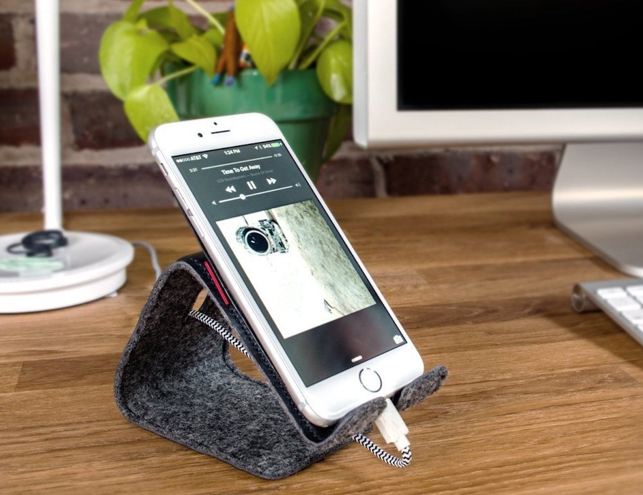 Stanley Flexible Leather Phone Stand