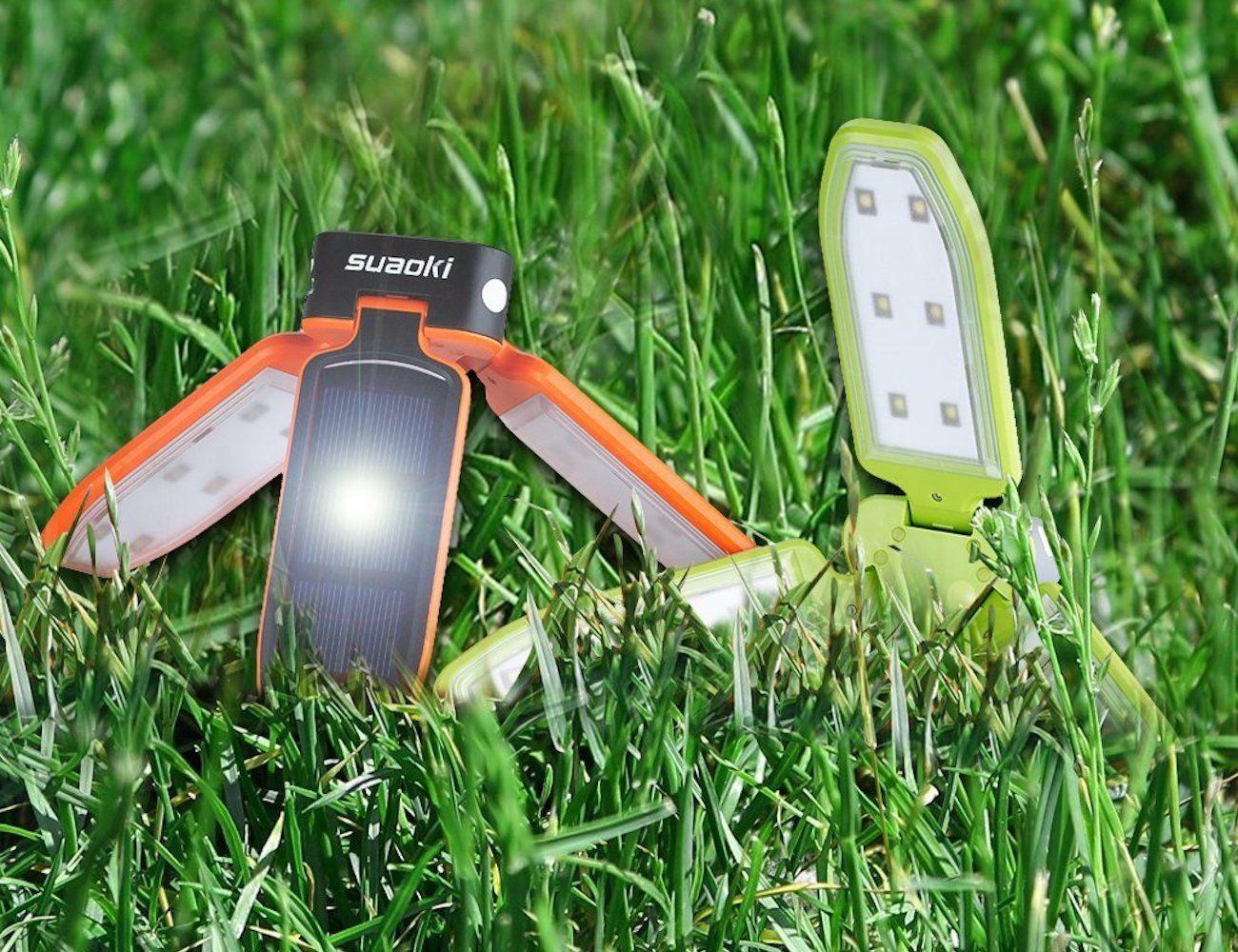Suaoki Portable Solar Panel Lamp