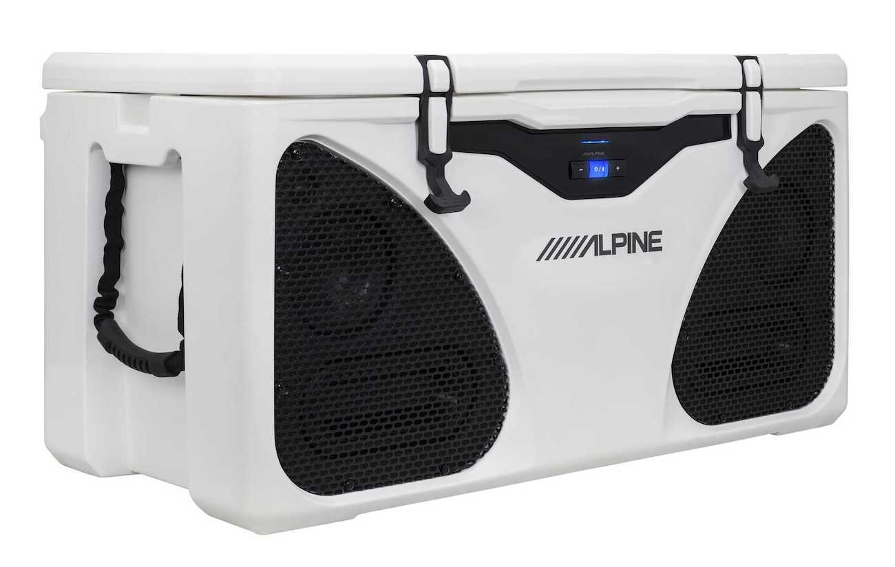 Alpine ICE Cooler and Entertainment System