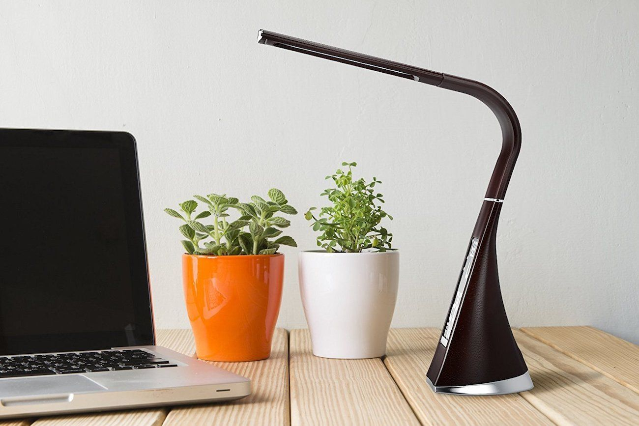 Avvio Dimmable Desk Lamp with Flexible Arm